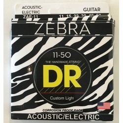 DR Strings ZAE-11 Zebra