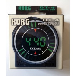 Korg DT-4 Chromatic Tuner