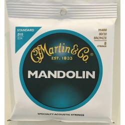 Martin M400 80/20 Bronze Mandolin Strings