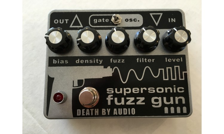 Death By Audio Supersonic Fuzzgun