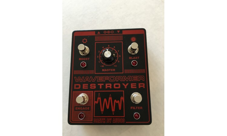 Death By Audio Waveform Destroyer